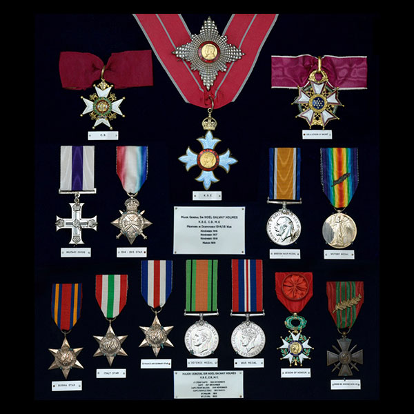 Brought War Medal Collections