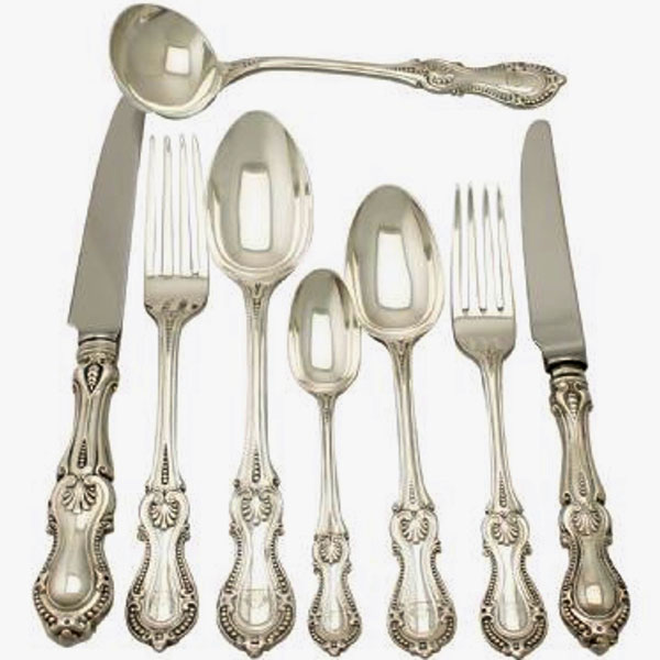 Brought Silver Cutlery