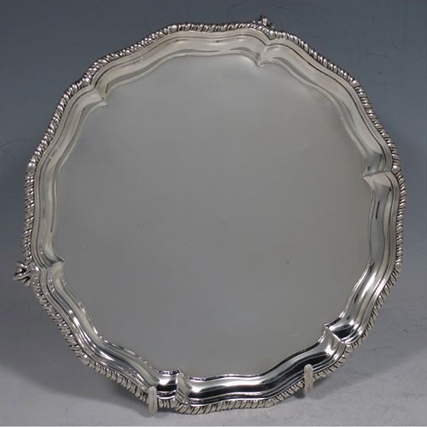 Brought Silver Plate